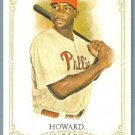 2012 Topps Allen & Ginter Baseball Short Print SP Hi # Ryan Howard (Phillies) #306
