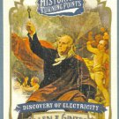 2012 Topps Allen & Ginter Historical Turning Points Discovery of Electricity #HTP10