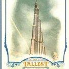 2012 Topps Allen & Ginter World's Tallest Buildings Burj Khalifa #WTB1