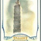 2012 Topps Allen & Ginter World's Tallest Buildings Taipei 101 #WTB2
