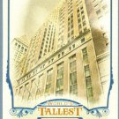 2012 Topps Allen & Ginter World's Tallest Buildings 40 Wall Street #WTB8