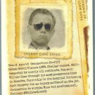 2012 Topps Allen & Ginter Crack the Code Sheriff Dave Kring