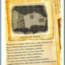 2012 Topps Allen & Ginter Crack the Code Scrap of Paper