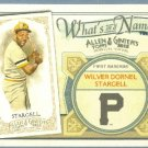 2012 Topps Allen & Ginter What's In A Name Willie Stargell (Pirates) #WIN67