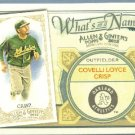 2012 Topps Allen & Ginter What's In A Name Coco Crisp (Athletics) #WIN81