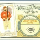 2012 Topps Allen & Ginter What's In A Name Joey Votto (Reds) #WIN87