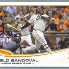 2013 Topps Baseball Ryan Vogelsong World Series (Giants) #196
