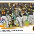2013 Topps Baseball Baltimore Orioles ALWC (Orioles) #317