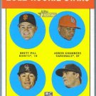 2012 Topps Heritage Baseball Rookies Pill / Chambers / Field / Pomeranz #208