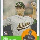 2012 Topps Heritage Baseball Rookie Tom Milone (Athletics) #374