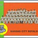 2012 Topps Heritage Baseball Kansas City Royals Team Photo (Royals) #397