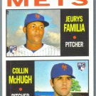 2013 Topps Heritage Baseball Mets Rookies Jeurys Familia & Collin McHugh #398