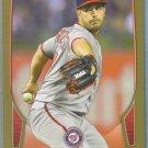 2013 Bowman Baseball GOLD Gio Gonzalez (Nationals) #38