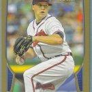 2013 Bowman Baseball GOLD Kris Medlen (Braves) #82