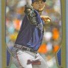2013 Bowman Baseball GOLD Mike Minor (Braves) #117