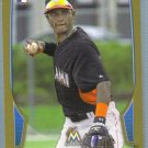 2013 Bowman Baseball GOLD Rookie Adeiny Hechavarria (Marlins) #131
