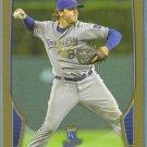 2013 Bowman Baseball GOLD Mike Moustakas (Royals) #155