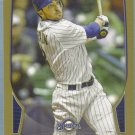2013 Bowman Baseball GOLD Ryan Braun (Brewers) #210