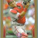 2013 Bowman Baseball GOLD Carlos Ruiz (Phillies) #211