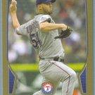 2013 Bowman Baseball GOLD Matt Harrison (Rangers) #214