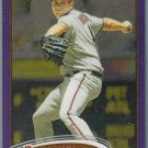 2012 Topps Chrome Baseball Purple Refractor Daniel Hudson (Diamondbacks) #67