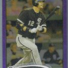 2012 Topps Chrome Baseball Purple Refractor A.J. Pierzynski (White Sox) #204
