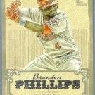 2013 Topps Baseball Calling Card Brandon Phillips (Reds) #CC-2
