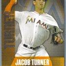 2013 Topps Baseball Chasing The Dream Jacob Turner (Marlins) #CD-11