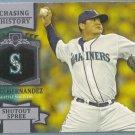 2013 Topps Baseball Chasing History Felix Hernandez (Mariners) #CH-82