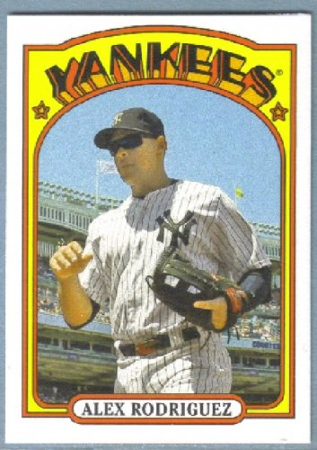 2013 Topps Baseball Mini Retro 1972 Alex Rodriguez (Yankees) #TM-28