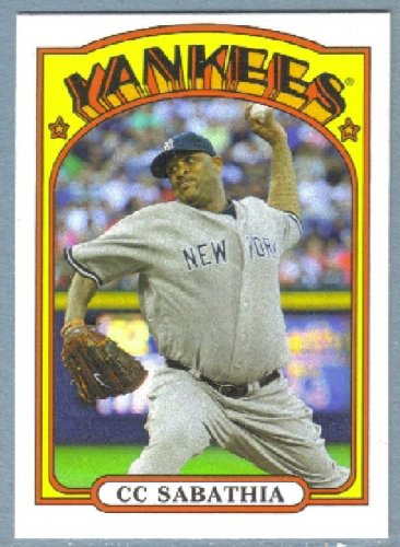 2013 Topps Baseball Mini Retro 1972 C.C. Sabathia (Yankees) #TM-29