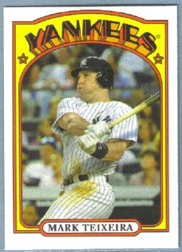 2013 Topps Baseball Mini Retro 1972 Mark Teixeira (Yankees) #TM-31
