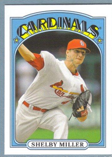 2013 Topps Baseball Mini Retro 1972 Shelby Miller (Cardinals) #TM-59