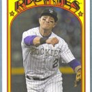 2013 Topps Baseball Mini Retro 1972 Troy Tulowitzki (Rockies) #TM-66