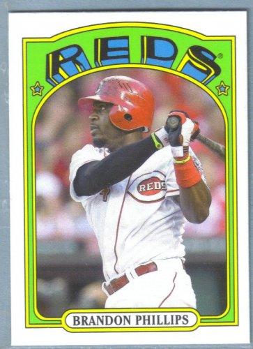 2013 Topps Baseball Mini Retro 1972 Brandon Phillips (Reds) #TM-72