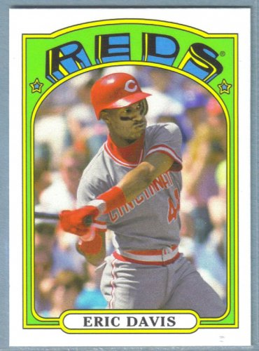 2013 Topps Baseball Mini Retro 1972 Eric Davis (Reds) #TM-81