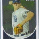 2013 Bowman Chrome Prospects Baseball Kris Hall (Athletics) #BCP40