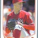 2013 Topps Update & Highlights Baseball Alex Sanabia (Marlins) #US83