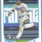 2013 Topps Update & Highlights Baseball Rookie Jose Dominguez (Dodgers) #US109