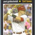 2013 Topps Update & Highlights Mini 1971 Retro Paul Goldschmidt (Diamondbacks) #TM-35