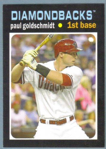 2013 Topps Update & Highlights Mini 1971 Retro Paul Goldschmidt (Diamondbacks) #TM-35