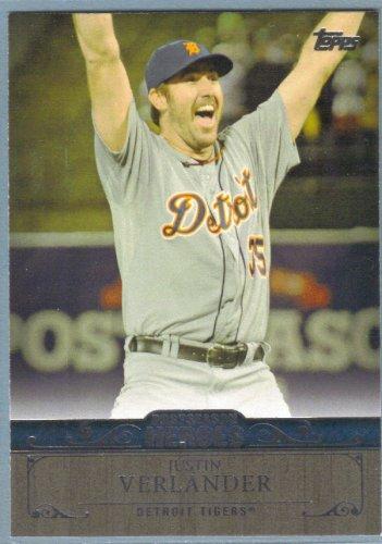 2013 Topps Update & Highlights Postseason Heroes Justin Verlander (Tigers) #PH-2