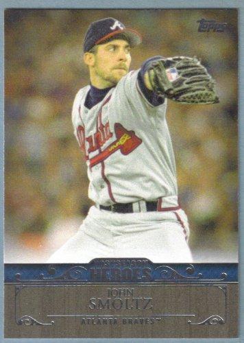 2013 Topps Update & Highlights Postseason Heroes John Smoltz (Braves) #PH-4