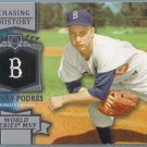2013 Topps Update & Highlights Chasing History Johnny Podres (Dodgers) #CH-112