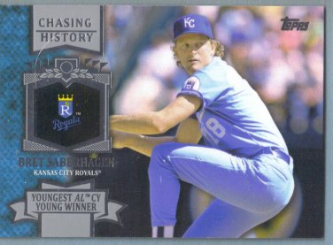 2013 Topps Update & Highlights Chasing History Bret Saberhagen (Royals) #CH-135