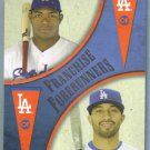 2013 Topps Update & Highlights Franchise Forerunners Yasiel Puig & Matt Kemp (Dodgers) #FF-2