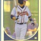 2013 Bowman Draft Picks & Prospects Chrome Refractor Dylan Manwaring (Braves) #BDPP71