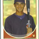 2013 Bowman Draft Picks & Prospects Chrome Refractor Nelson Molina (Twins) #BDPP76
