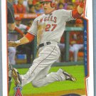 2014 Topps Baseball Nick Markakis (Orioles) #61