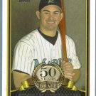 2014 Topps Baseball 50 Years of the Draft Adrian Gonzalez (Marlins) #50YD-5